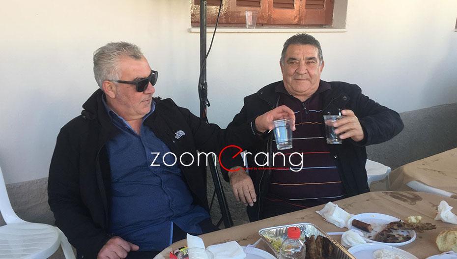 Τα «είπαν» Παπαγεωργόπουλος και Κούγκας «τσουγκρίζοντας» τα ποτήρια τους