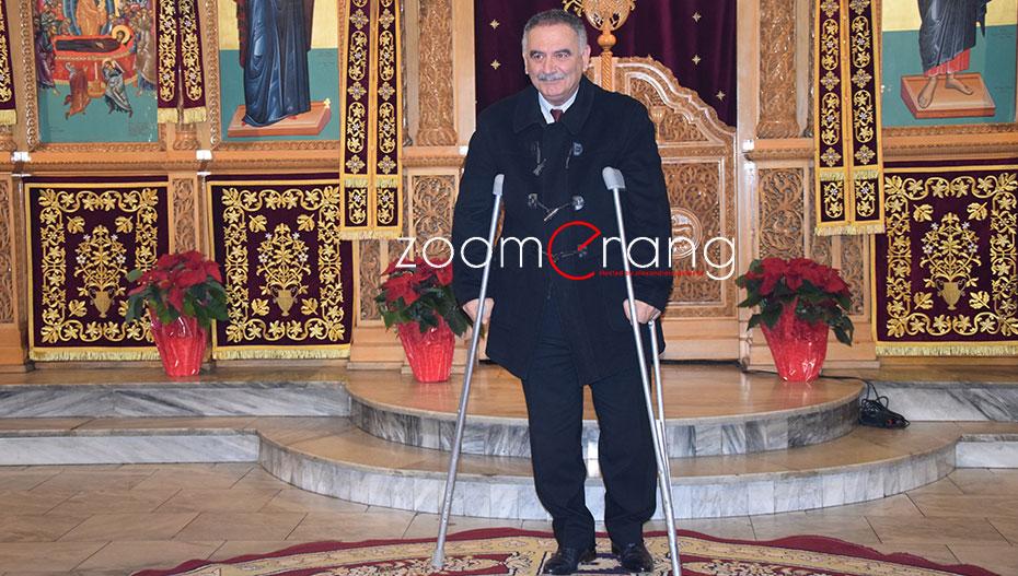 Μετά τον Θ. Τεληγιαννίδη τραυματίσθηκε στο πόδι και ο Γ. Κασαπίδης. Σοβαρότερος ο τραυματισμός του υποψήφιου περιφερειάρχη Δυτικής Μακεδονίας.