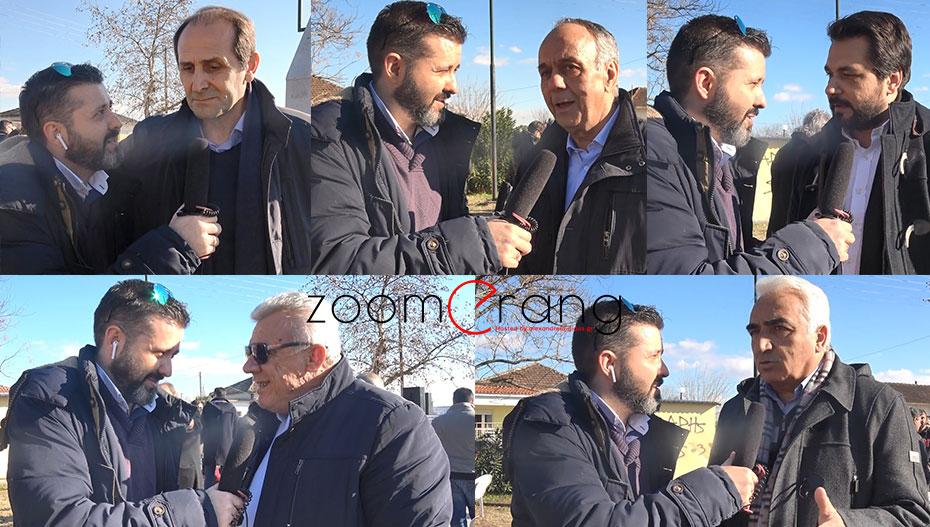 Βεσυρόπουλος, Αντωνίου, Μπαρτζώκας, Γκυρίνης και Χαλκίδης δίνουν ευχές on camera και κάνουν εκτιμήσεις για τις ερχόμενες εκλογές