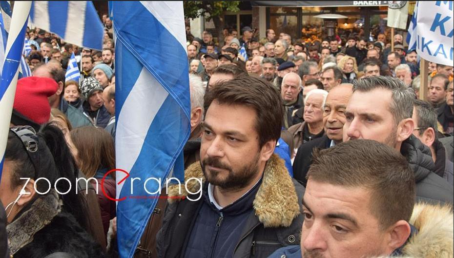 """Τάσος Μπαρτζώκας: Στον αγώνα για τη Μακεδονία, η Ημαθία είναι ενωμένη, πλην """"Λακεδαιμονίων""""…"""