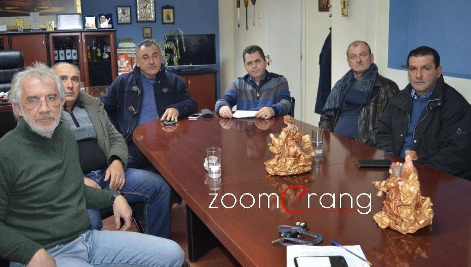 Αμετακίνητα με την πλευρά των αγροτών, ο αντιπεριφερειάρχης Κώστας Καλαϊτζίδης