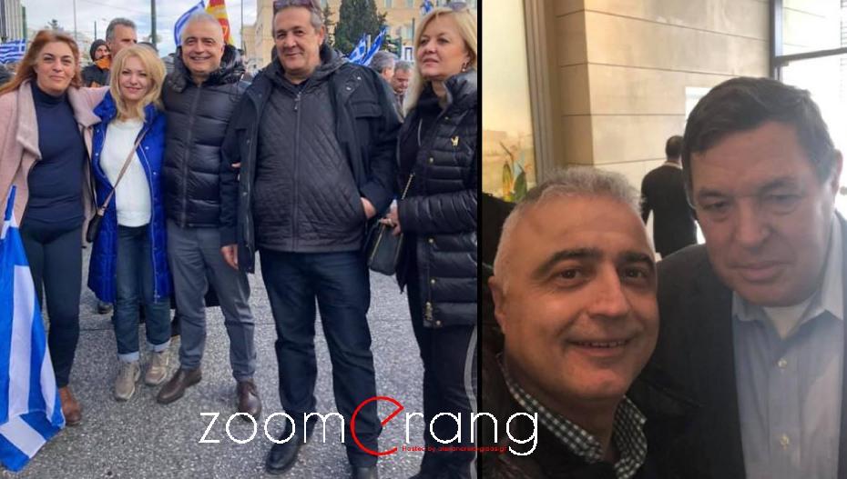 Στο Σύνταγμα και στο συλλαλητήριο για τη Μακεδονία, ο Λάζαρος Τσαβδαρίδης