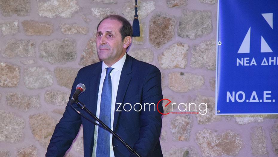 Απ. Βεσυρόπουλος: «Η κυβέρνηση Τσίπρα είναι κυβέρνηση φόρων και πλειστηριασμών»