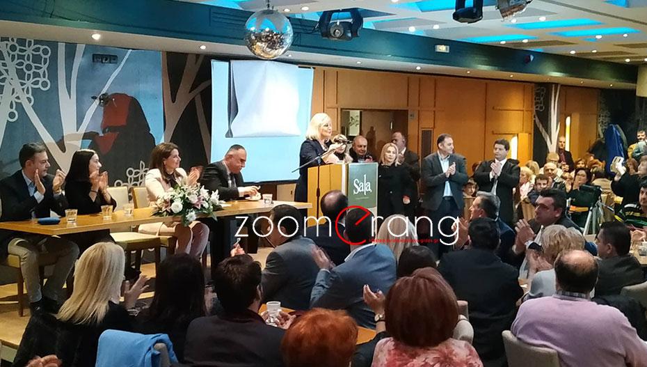 Με πολύ κόσμο η πρώτη ομιλία της Γεωργίας Μπατσαρά στη Βέροια – ποιους ανακοίνωσε και πως θα ονομάζεται ο συνδυασμός (φώτο)