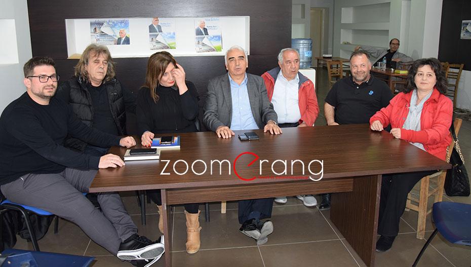 Ανακοίνωσε τους πρώτους 6 υποψήφιους συμβούλους ο Μιχάλης Χαλκίδης (εικόνες-βίντεο)