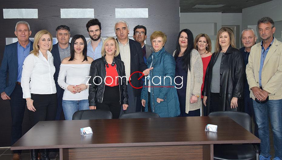 Ανακοίνωσε 14 υποψήφιους δημοτικούς συμβούλους ο Μιχάλης Χαλκίδης (εικόνες-βίντεο)