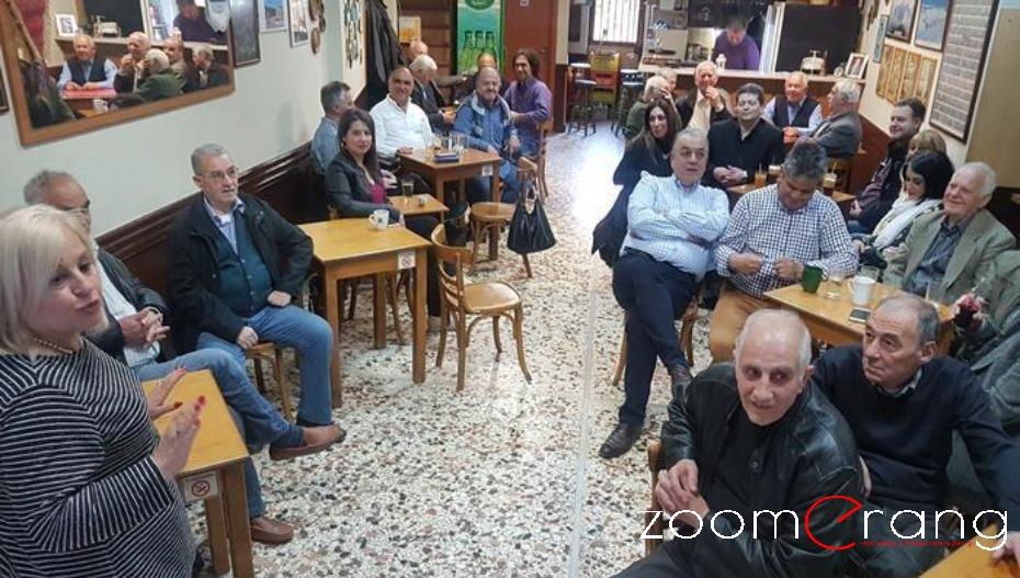 Συναντήσεις της Γεωργίας Μπατσαρά με πολίτες της γειτονιάς και των χωριών του δήμου Βέροιας