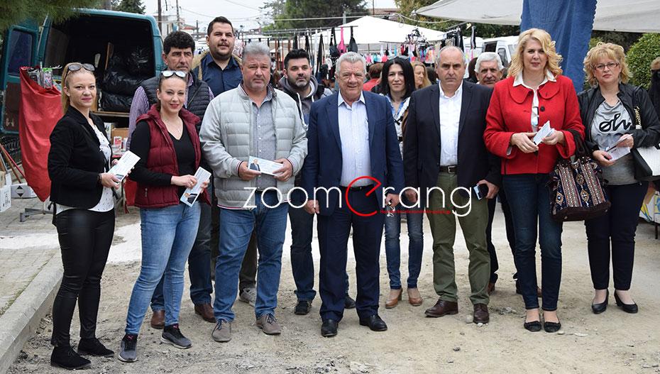 Στο παζάρι της Μελίκης ο δήμαρχος Αλεξάνδρειας με τους συνεργάτες του – κάλεσαν τον κόσμο στο ΑΛΕΞΑΝΔΡΕΙΟ (εικόνες-βίντεο)
