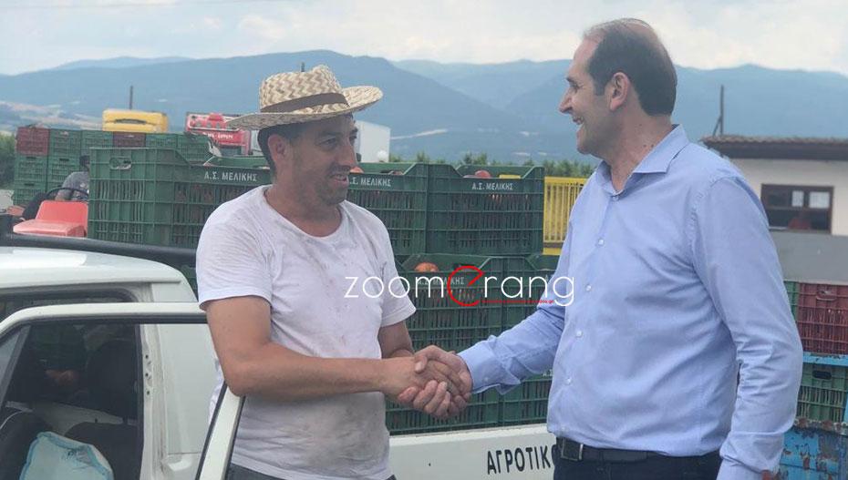Ο Απ. Βεσυρόπουλος κοντά στους αγρότες: «Να βάλουμε τον πρωτογενή τομέα σε μια νέα εποχή»